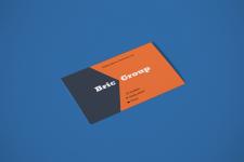 Макет и дизайн визитки