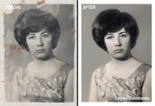 Відновлення та ретуш відсканованого фото