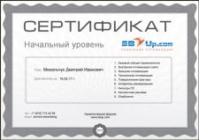 Сертификат SEO-специалиста