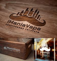 логотип для магазина электронных сигарет iManiaVap