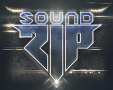 """Логотип и стилизация """"Sound ZIP"""""""