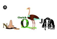 Разработка букв для детского английского букваря