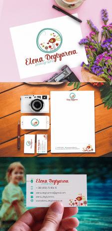 """Лого для фотографа """"Elena Degtyareva"""""""