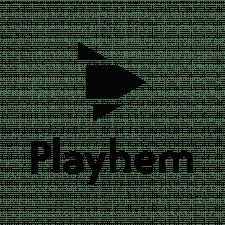 "Логотип Youtube канала ""Playhem"""