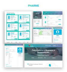 """Job Search Platform In Medicine """"PharMe"""""""