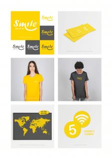 "Brand Identity ""Smile Hostel"" Айдентика"