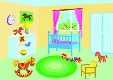Ілюстрація до дитячої книги. Векторна графіка