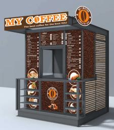 Кофейный киоск