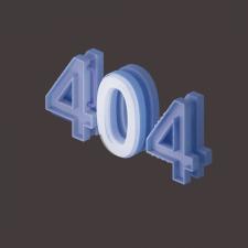 404 3d model