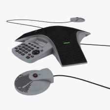 Конференц-телефон (High poly)