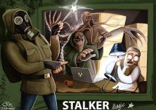 Иллюстрация в рамках вселенной S.T.A.L.K.E.R.