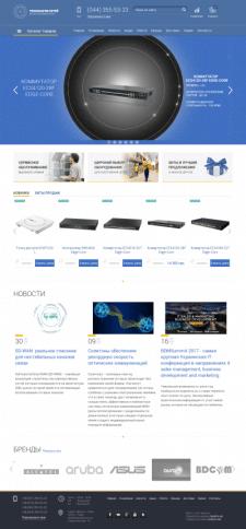 Интернет магазин (индивидуальная разработка)