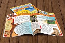 Вёрстка детского журнала