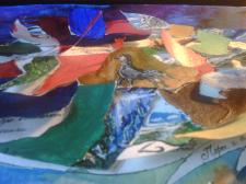 Процесс создания карты в стиле фэнтези