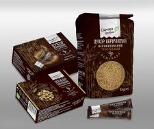 Дизайн упаковок для корчиневого сахара