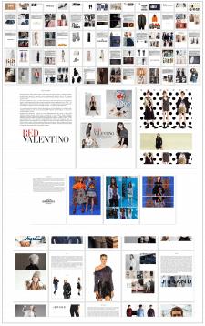 Составление каталога известных домов моды