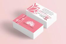 Дизайн скидочных карт для салона красоты