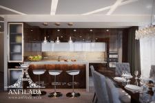 """Дизайн-проект гостиной """"Bartolomeo Resort Town"""""""