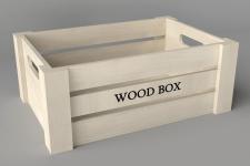Boite en bois moyen format