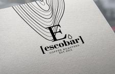 """Логотип для обжарки кофе """"Escobar"""""""