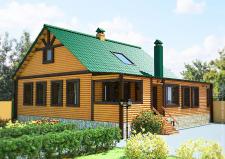 Моделирование и визуализация экстерьера дома