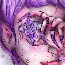 Иллюстрация на тему кристалл