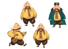 Разработка персонажей