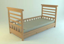 3Д детская кроватка
