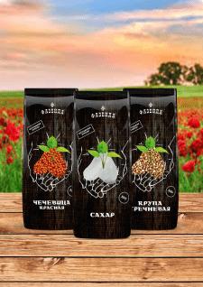 дизайн упаковки для линейки круп (Азербайджан)