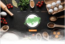 Web дизайн для ресторану здорового харчування