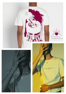 "Дизайн линейки футболок ""Психоделия по-советски"""
