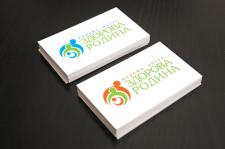 """Утвержденный логотип  """"Здорова родина"""""""