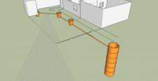 Небольшая 3д схема канализации