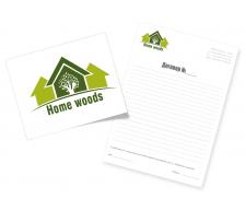 Home wood - фирменный стиль копмании