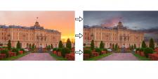 Изменение фона фотографии