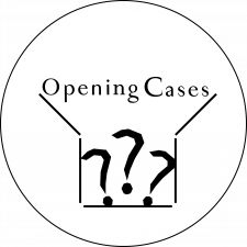 Opening cases