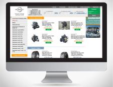 Дизайн сайта запчастей ZIPCOM