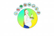 Иллюстрация для  статьи о здоровом питании...