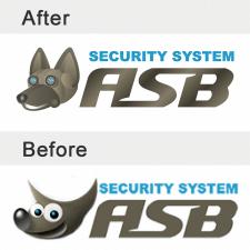 Корректировка логотипа