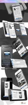 Оформление презентации мобильного приложения