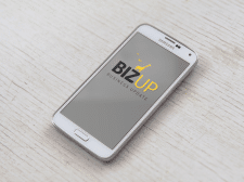 Логотип BizUp