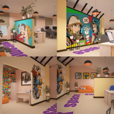Дизайн офиса для call-центра