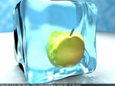 яблоко во льду