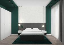 """Дизайн інтер'єру спальні для """"Мerx"""""""