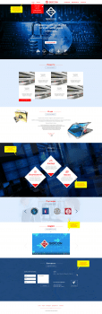 Дизайн для сайта консалтинговой компании