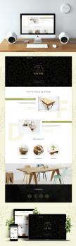 Веб сайт по изготовлению деревянной мебели