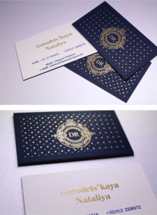 Лого+дизайн визитки
