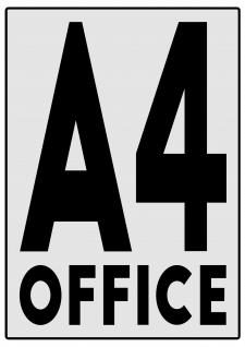 """""""А4 Office"""" - лого для магазина канцелярии."""