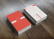 Бизнес-визитка+логотип компании