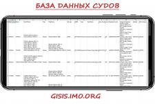 База данных судов с сайта gisis.imo.org